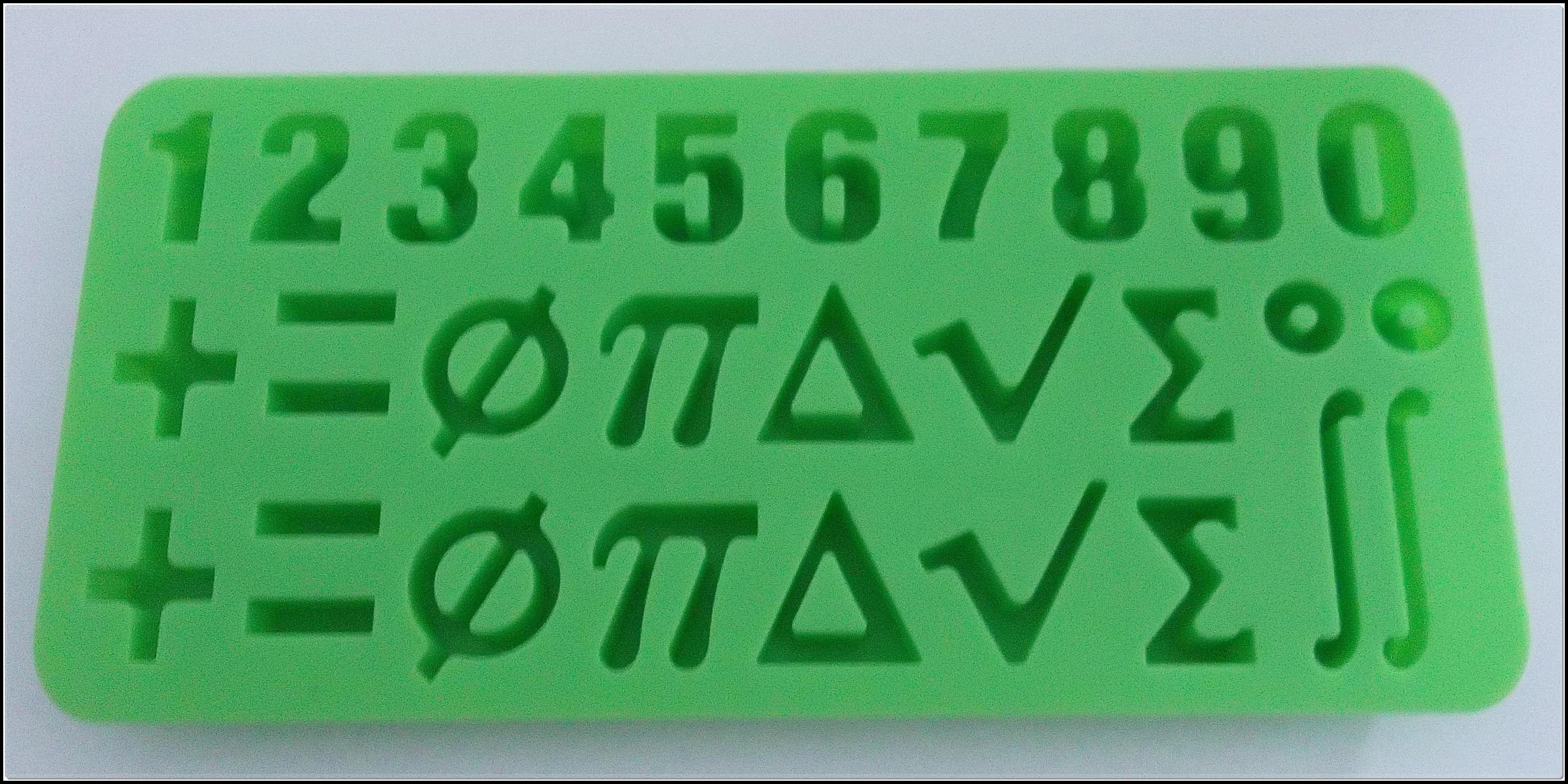 Mathematische Zeichen